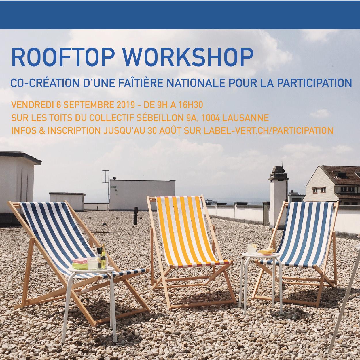 Co-création d'une faîtière nationale pour la participation (Lausanne)